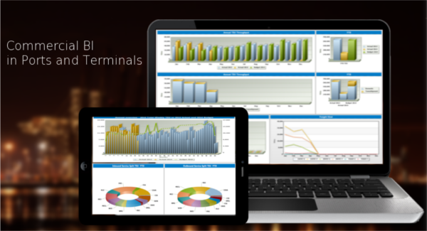 What value does Commercial Business Intelligence brings in Ports and Terminals