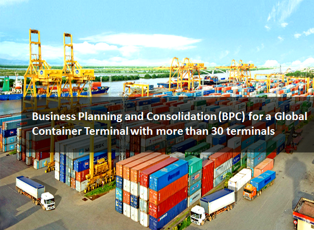 SAP BPC for Global terminal